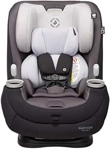 Maxi-Cosi Pria 3-in-1 Convertible Car Seat, Blackened Pearl, One Size