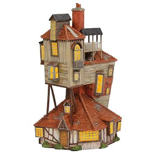 -  Department 56 Harry Potter Village The Burrow Lighted Buildings, 9.06