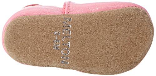 Melton Baby Mädchen Krabbelschuh Heart Aus Weichem Leder, Mehrfarbig (Soft Cerise), 36-48 M (26/27 EU)