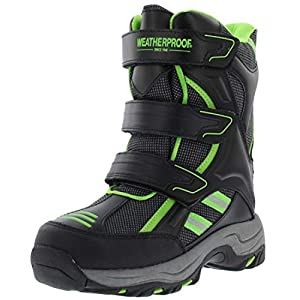 Weatherproof Boys Kody Multi Closure Snow Boot
