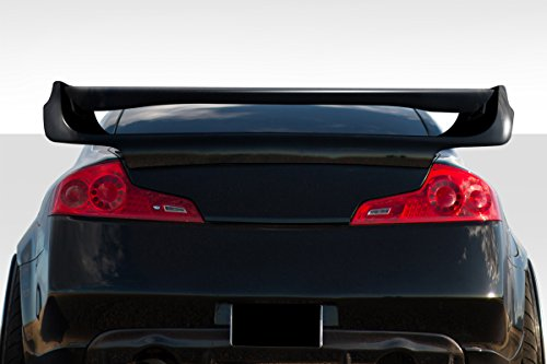 Duraflex ED-YQP-971 Vader Style Spoiler - 1 piece Body Kit - Compatible For Infiniti G Coupe - Rear Bumper Vader Duraflex Lip