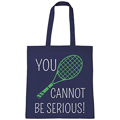 Mcenroe Cannot Tournament Tote Navy Batch1 John Serious Wimbledon Be Shopper Bag You X5qaw4