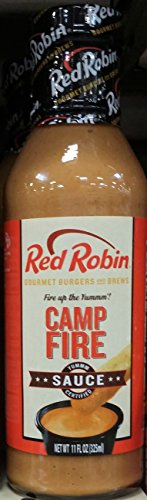 Red Robin Camp Fire Bbq Sauce 14 Oz  Pack Of 3