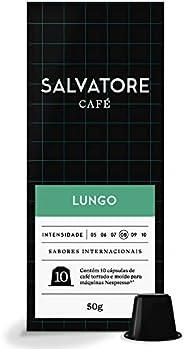Cápsulas De Café Lungo Salvatore, Compatível Com Nespresso, Contém 10 Cápsulas