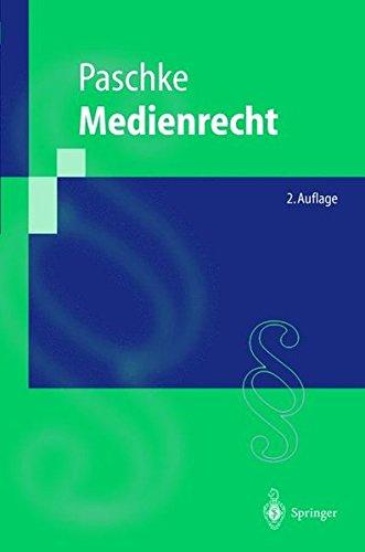 Medienrecht (Springer-Lehrbuch) (German Edition)