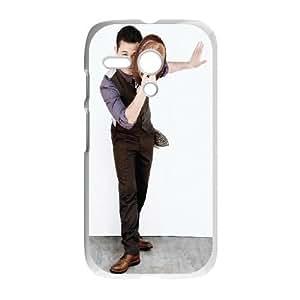 Celebrities Actor Joseph Gordon Levitt Motorola G Cell Phone Case White phone component RT_400938