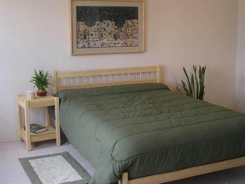 Platform Bed Nomad Furniture Ranch Queen Size Maple
