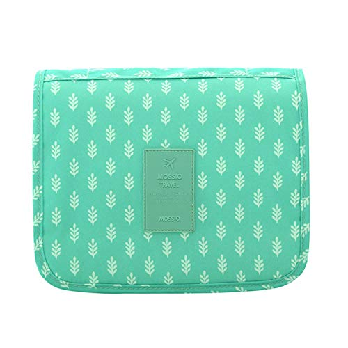 Dopp Kit,Mossio Storage Diaper Bag Cosmetics Luggage Organizer Gift for Traveler Green ()