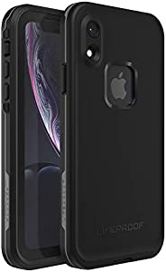Lifeproof FRĒ SERIES Waterproof Case for iPhone XR - Retail Packaging - ASPHALT (BLACK/DARK GREY)
