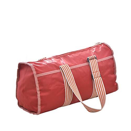 De Bandoulière Nylon Tote Voyage Ruban Diagonale Khaki En Rayé Extérieur Sport Imperméable Main Grande Weatly Sac À color Red Capacité 5qOFzw