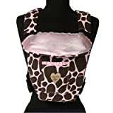Active Front Pack Carrier Cover Color: Ginny Giraffe