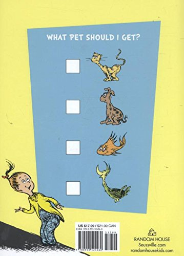 What Pet Should I Get? (Classic Seuss) by Random House (Image #1)