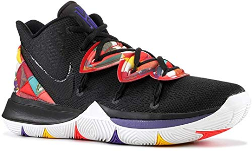 Nike Men's Kyrie 5 Basketball Shoes (Chinese New Year), Black/Black/Summit White, 11.5 M US