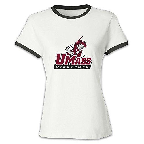 OGUTX Women's Umass Amherst T Shirt (Mascot T-shirt Tradition)