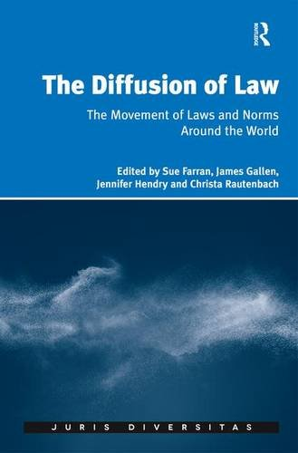 The Diffusion of Law: The Movement of Laws and Norms Around the World (Juris Diversitas)
