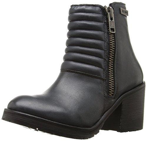 Harley-Davidson Women's Aranda Work Boot, Slate, 8 M (Harley Davidson Boots Leather Heels)