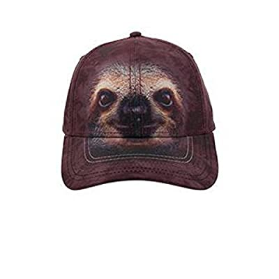 Otto The Mountain Sloth Face Low Profile Style Caps - Sloth Caps