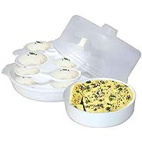 Wonder Healthy Idli Dhokla Maker Combo for Microwave, Big Idli Steamer, 1 Pc
