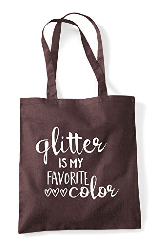 Favourite Shopper Bag Crafty Colour Tote Brown Statement Glitter My Is 6ZxwAHq6EF