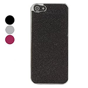 HOR Flash Polvo Superficie Dura para iPhone 5 (colores surtidos) , Color Plata