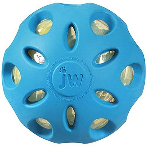 Jw Pet Company Dog Chew Toy - JW Pet Company Crackle Heads Crackle Ball Dog Toy