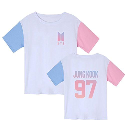 Dolpind Kpop BTS Bangtan Boys Love Yourself Multicolor Tshirt Rap Monster Suga Rap Monster Tee