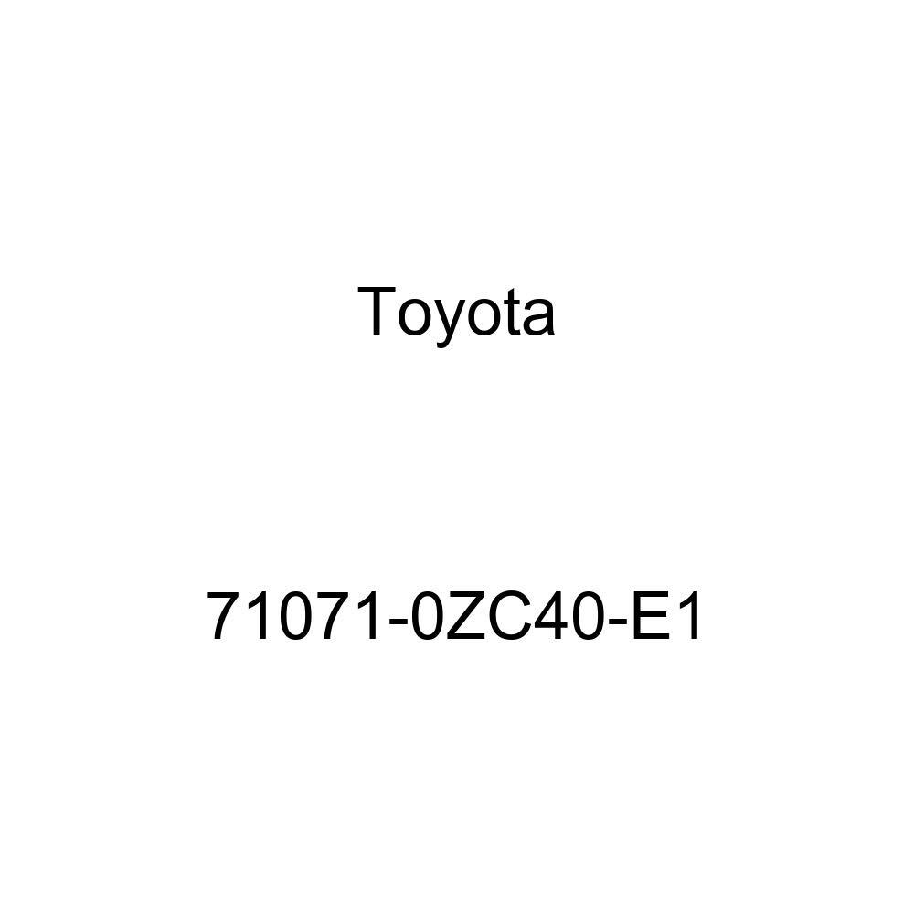 TOYOTA Genuine 71071-0ZC40-E1 Seat Cushion Cover