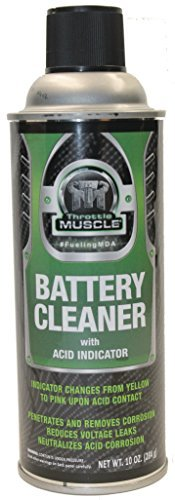 (Throttle Muscle TM2282-C - Battery Cleaner with Acid Indicator 10 Oz Case of 12)