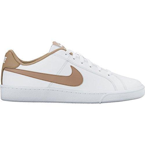Nike Court Royale - Zapatillas unisex, color negro / blanco Elfenbein (White/khaki)