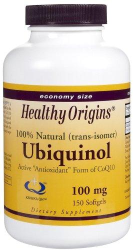 Healthy Origins Ubiquinol 100 Mg 150 sgel ( Multi-Pack) by Healthy Origins
