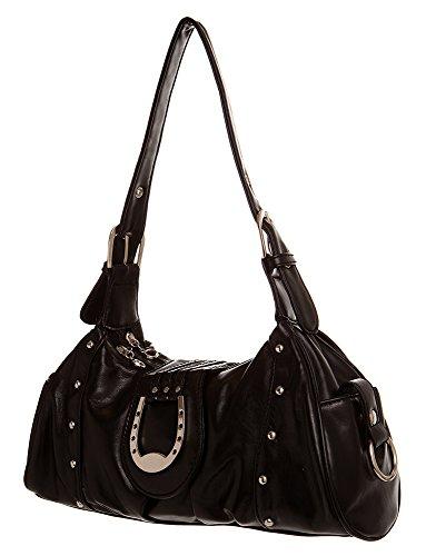Studded Hobo women handbag Shoulder Handbag by Handbags For All