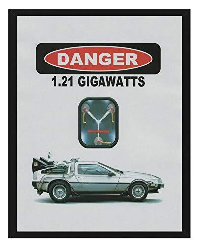 Signature Studios Back to The Future BTTF Movie Poster Delorean Print Time Machine Flux Capacitor 8x10 Print