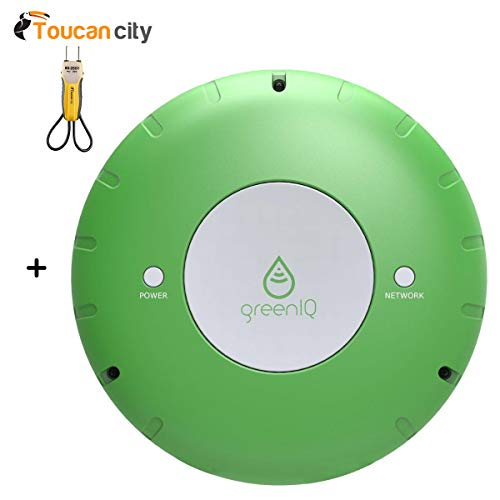 Toucan City Voltage Tester and GreenIQ Smart Garden Hub 6 Zone Wi-Fi Irrigation Controller GIQ-USWIF-001/EN