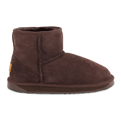 Boots Sheepskin Chocolate Sheepskin Ladies Mini Classic Just XZHFw