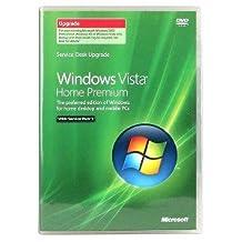 Windows Vista Home Premium SP1 English Upgrade DVD Retail Tech