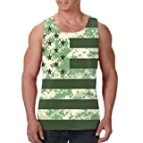 Men's Tank Top Camouflage USA Flag Custom Workout