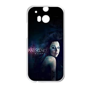 Evanescence HTC One M8 Cell Phone Case White as a gift A4639642