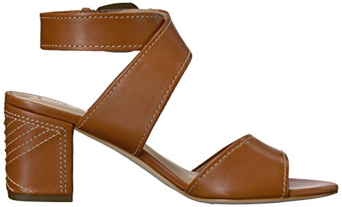 Sandal Via Dress Carson Spiga Leather Cuoio Women's wIzxIpq6S