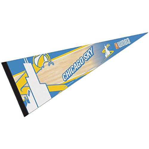 WNBA 70972013 Chicago Sky Premium Pennant, 12'' X 30'' by WinCraft