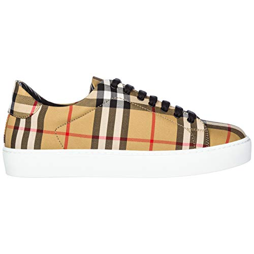 BURBERRY Women Westford Sneakers Antique Yellow 9 US