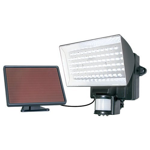 MAXSA Solar-Powered Security Floodlight