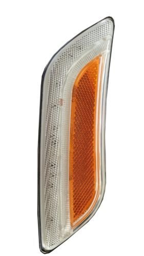 Peterbilt 579/587 Fender Turn Signal Light (12 LED) Driver Side - Amber/Clear by Parts Express