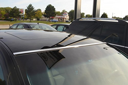 DIY 2 Piece Chrome Roof Molding Trim Kit