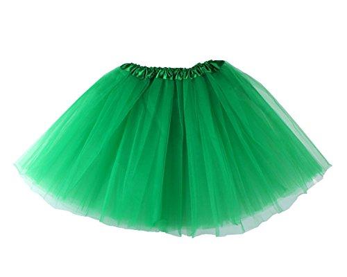 Leegoal(TM) Tutu pour femme Vert - Vert