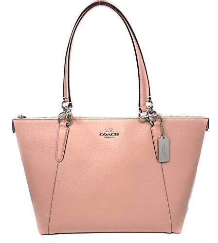 Coach 57526 crossgrain Leather Ava Tote In Petal