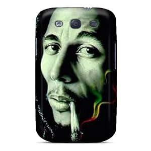 JohnPrimeauMaurice Samsung Galaxy S3 Protective Cell-phone Hard Covers Custom Realistic Bob Marley Skin [sAu6902WOwn]