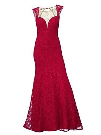 Abendkleid rot 46