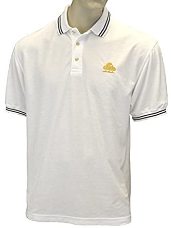 Branded/Embroidered Bruntwood Logo Premium Tipped Polo Shirt: Amazon.co.uk:  Clothing