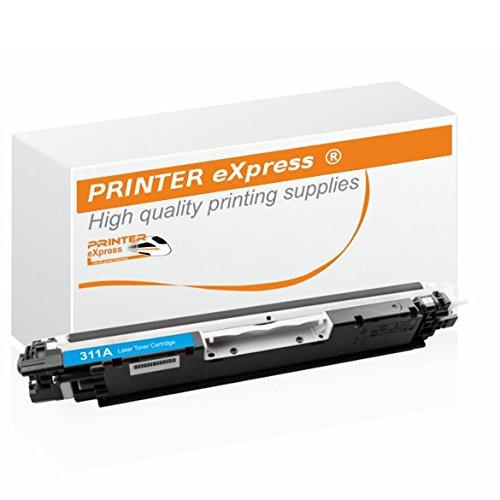 Printer-Express XL–Toner sostitutivo CE311A 126A ciano