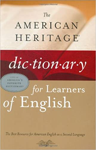 Heritage dictionary book american